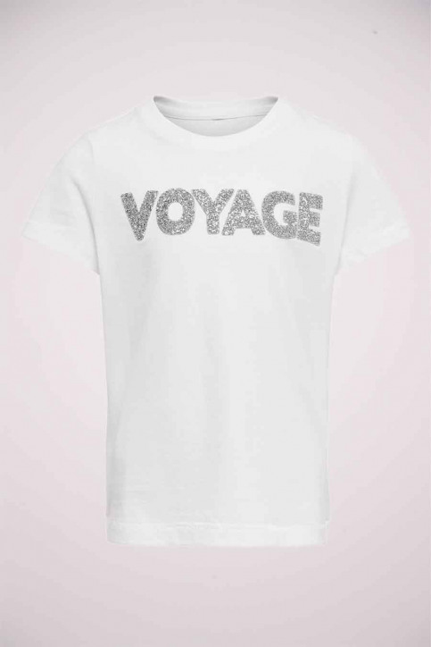 ONLY T-shirts manches courtes blanc 15206124_BRIGHTWHITE SIL img1