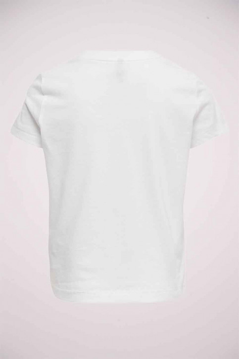 ONLY T-shirts manches courtes blanc 15206124_BRIGHTWHITE SIL img2