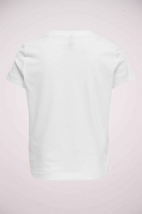 ONLY T-shirts manches courtes blanc 15206124_BRIGHTWHITE SIL img3