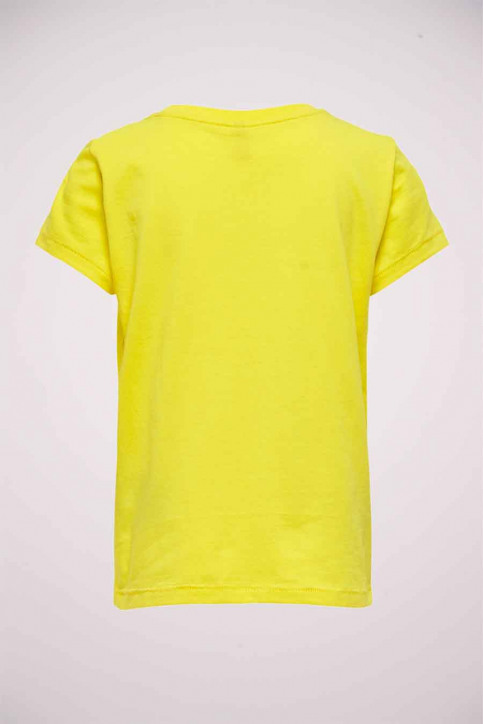 ONLY T-shirts manches courtes jaune 15206124_BUTTERCUP SIL B img2