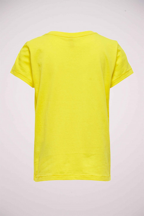 ONLY T-shirts manches courtes jaune 15206124_BUTTERCUP SIL B img3