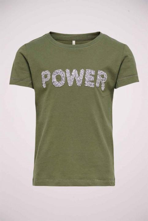 ONLY T-shirts manches courtes vert 15206124_KALAMATA GO BL img1