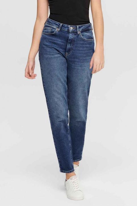 ONLY Mom Jeans denim 15206610_REA9844 MID BLU img1