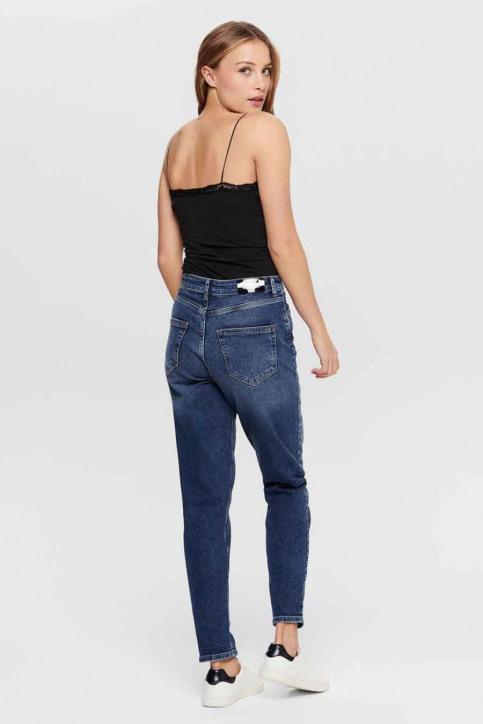 ONLY Mom Jeans denim 15206610_REA9844 MID BLU img2