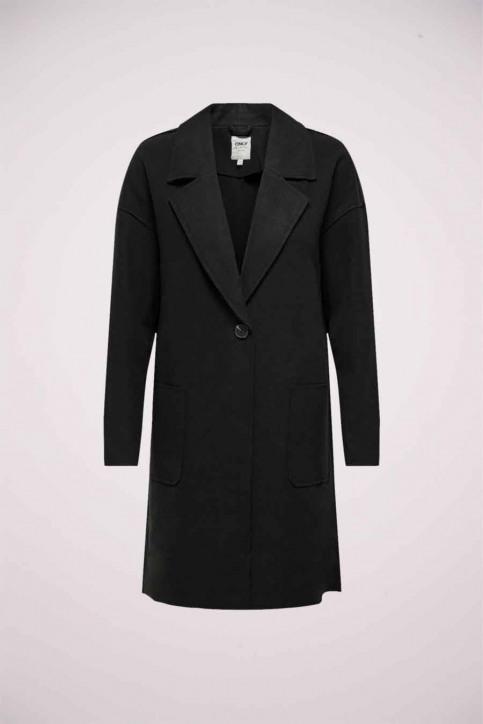 ONLY Lange jassen zwart 15206786_BLACK img1