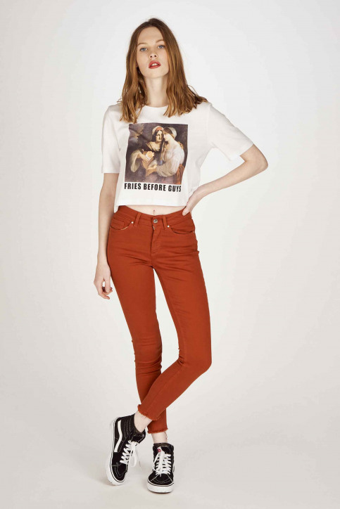 ONLY® T-shirts (manches courtes) blanc 15207016_BRIGHT WHITE img2