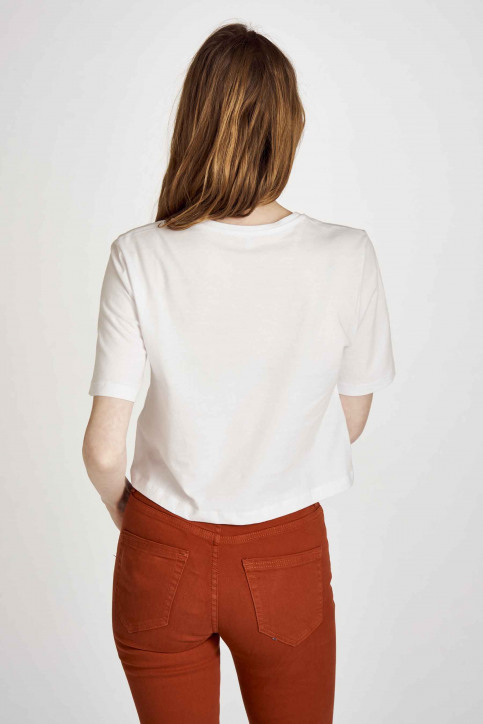 ONLY® T-shirts (manches courtes) blanc 15207016_BRIGHT WHITE img3