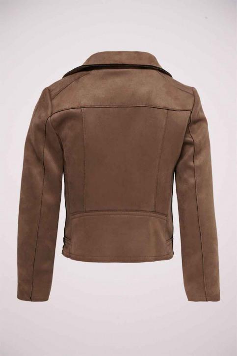 ONLY Vestes courtes brun 15207570_COGNAC img2