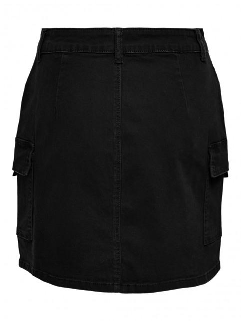 JACQUELINE de YONG Rokken (kort) zwart 15208021_BLACK img6