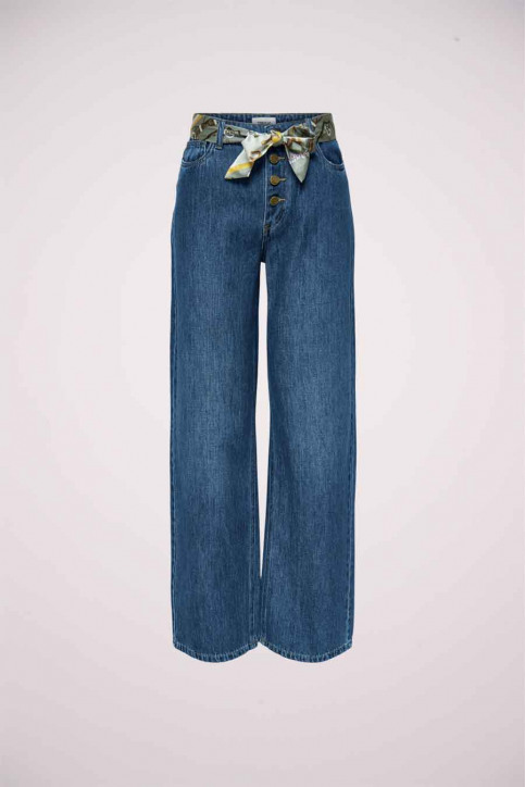 ONLY Jeans wide denim 15209580_DARK BLUE DENIM img1
