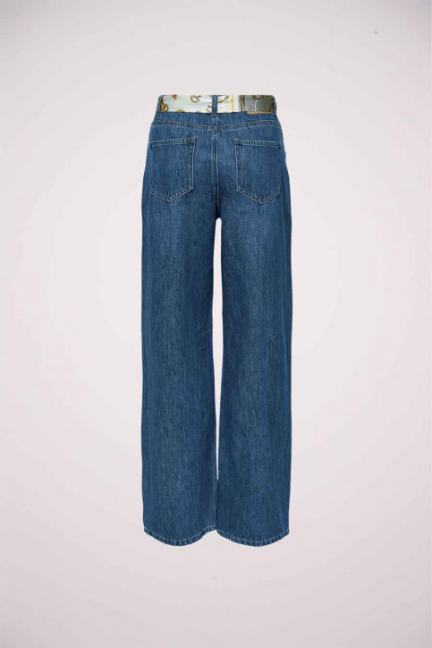 ONLY Jeans wide denim 15209580_DARK BLUE DENIM img2