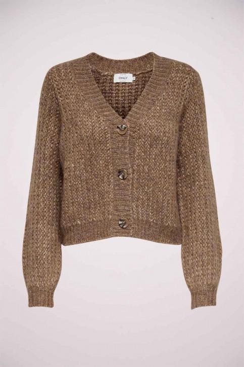 ONLY Cardigans beige 15210998_CAMEL W MELANGE img5