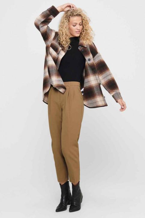 JACQUELINE de YONG Hemden (lange mouwen) bruin 15211416_CHICORY COFFEE img2