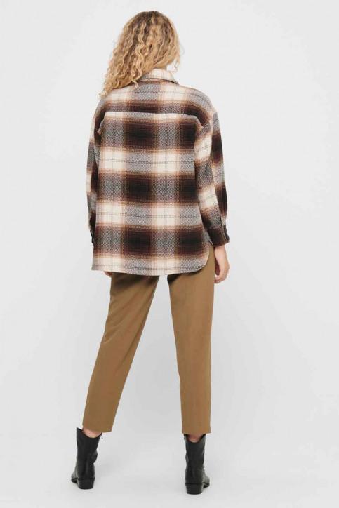 JACQUELINE de YONG Hemden (lange mouwen) bruin 15211416_CHICORY COFFEE img3