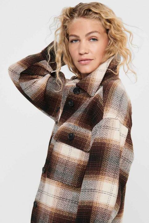 JACQUELINE de YONG Hemden (lange mouwen) bruin 15211416_CHICORY COFFEE img4