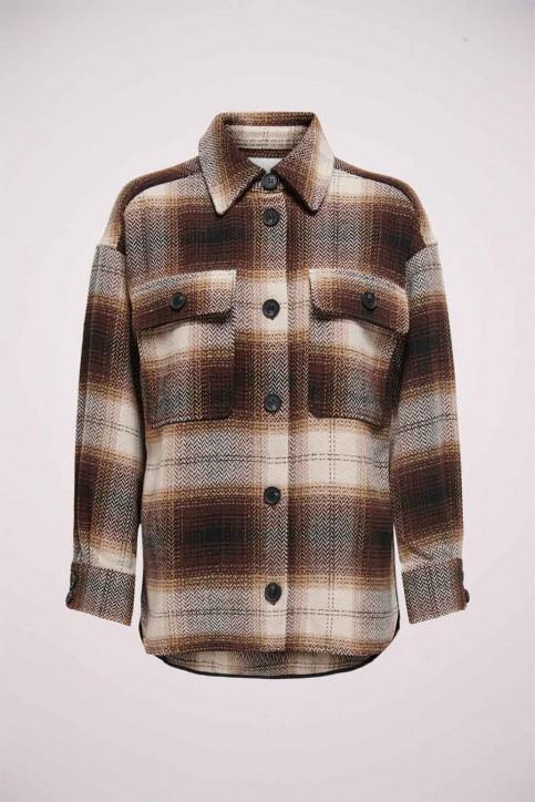 JACQUELINE de YONG Hemden (lange mouwen) bruin 15211416_CHICORY COFFEE img5