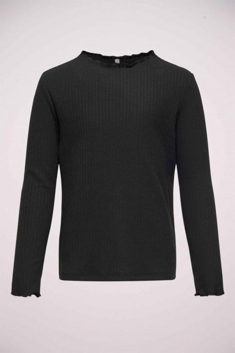 ONLY T-shirts met lange mouwen zwart 15212059_BLACK img1
