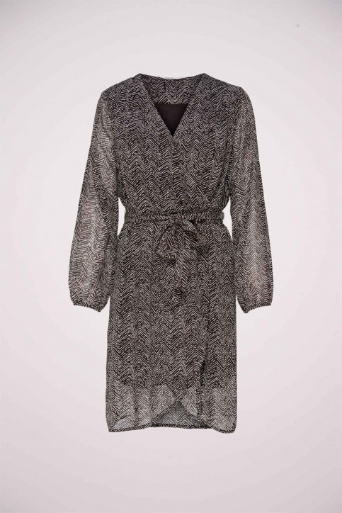 ONLY Robes courtes noir 15213515_BLACK COFFEE ZE img1