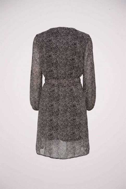 ONLY Robes courtes noir 15213515_BLACK COFFEE ZE img2