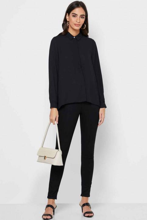 ONLY Hemden (lange mouwen) zwart 15213759_BLACK img2
