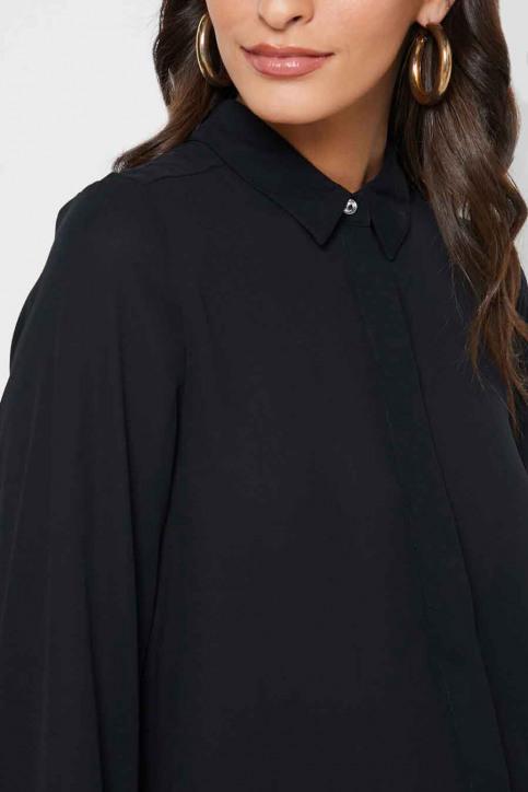 ONLY Hemden (lange mouwen) zwart 15213759_BLACK img4