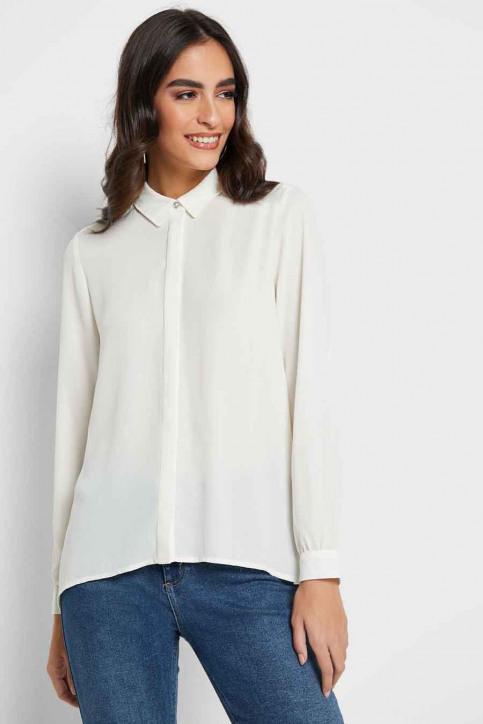ONLY Hemden (lange mouwen) ecru 15213759_CLOUD DANCER img1