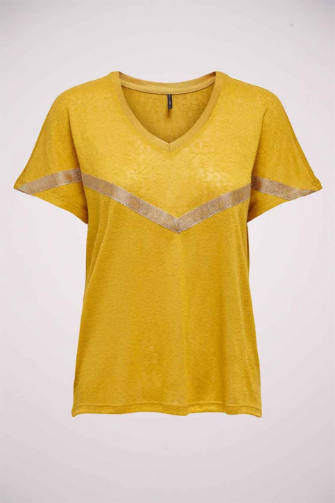 ONLY T-shirts (manches courtes) vert 15214493_TAWNY OLIVE G B img1