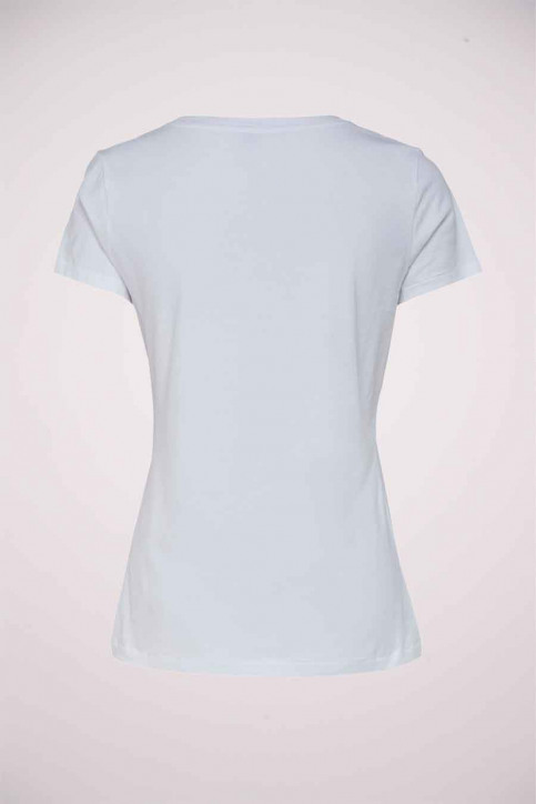 ONLY T-shirts (manches courtes) blanc 15215655_BRIGHT WHITE FL img2