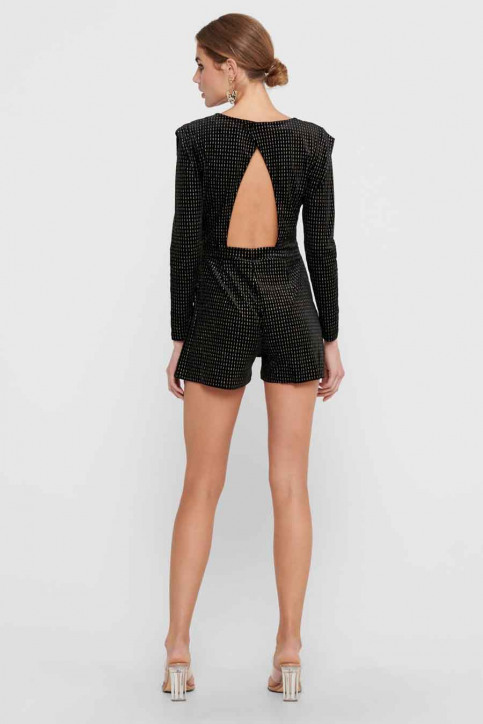 ONLY Playsuits zwart 15216820_BLACK GOLD img2