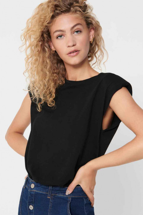 ONLY Tops (sans manches) noir 15224160_BLACK img3