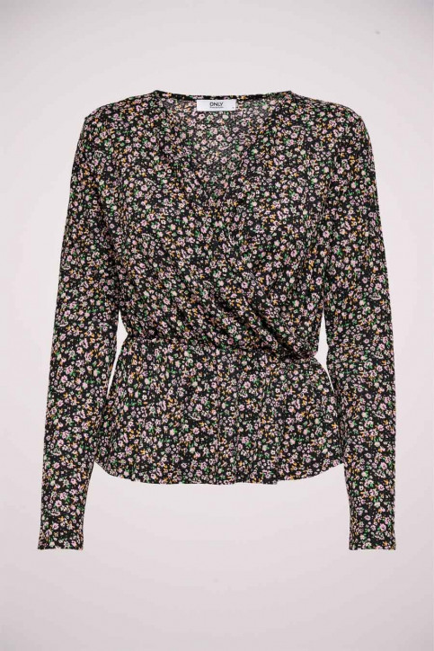 ONLY Blouses (lange mouwen) zwart 15234715_BLACK REFRESH D img1