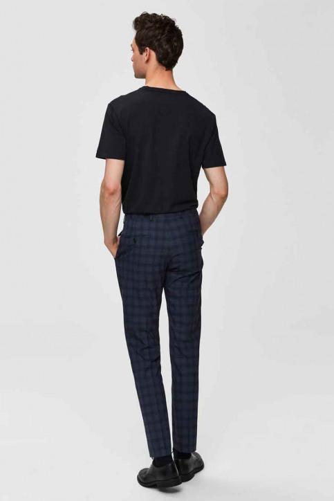 SELECTED T-shirts (korte mouwen) zwart 16034243_BLACK img5