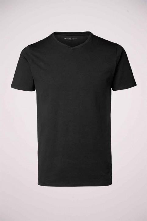 SELECTED T-shirts (korte mouwen) zwart 16034243_BLACK img7
