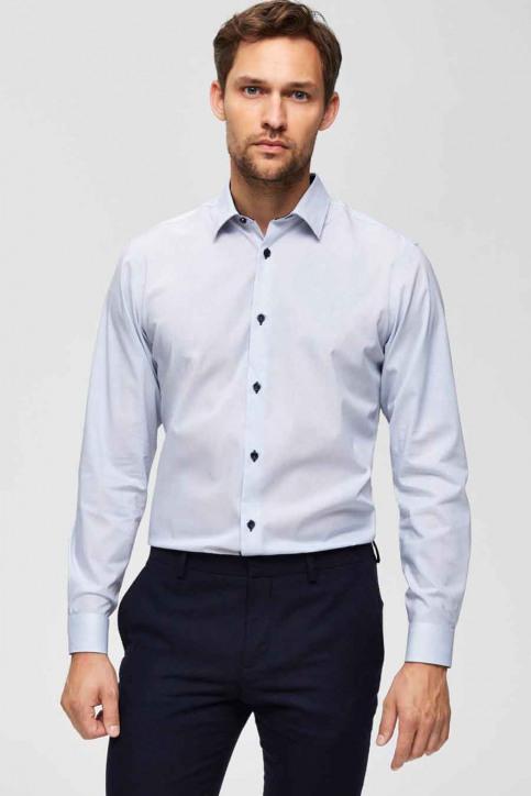 SELECTED Hemden (lange mouwen) wit 16069007_BRIGHT WHITE img1