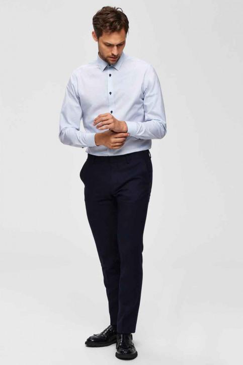 SELECTED Hemden (lange mouwen) wit 16069007_BRIGHT WHITE img4