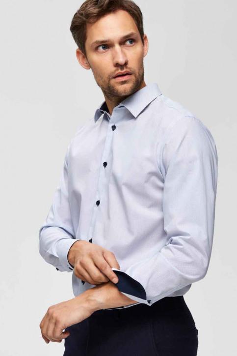 SELECTED Hemden (lange mouwen) wit 16069007_BRIGHT WHITE img5