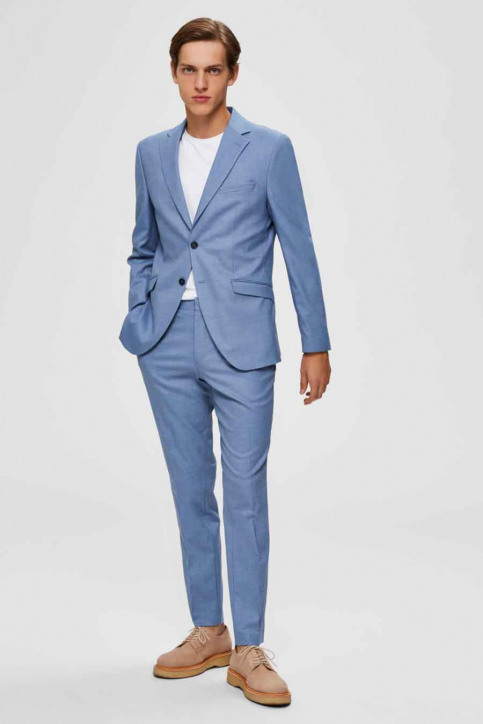 SELECTED Blazers blauw 16072413_LIGHT BLUE img4