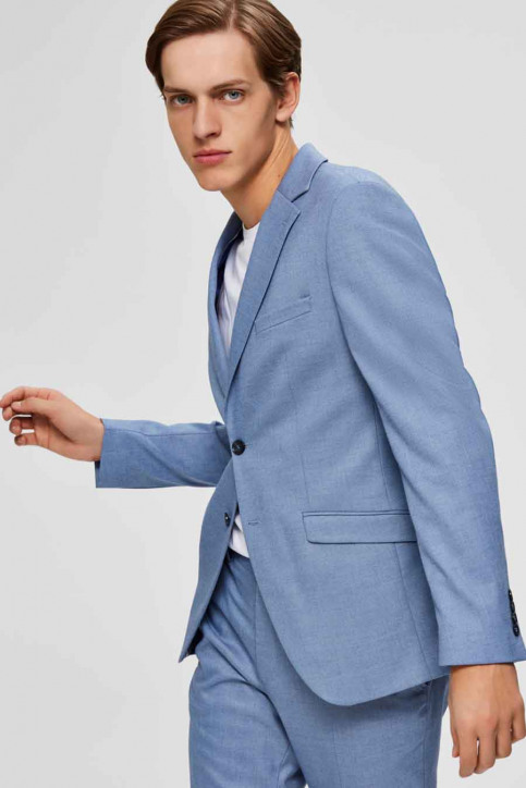SELECTED Blazers blauw 16072413_LIGHT BLUE img5