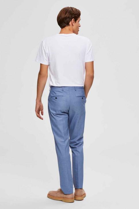 SELECTED Kostuumbroeken blauw 16072414_LIGHT BLUE img2