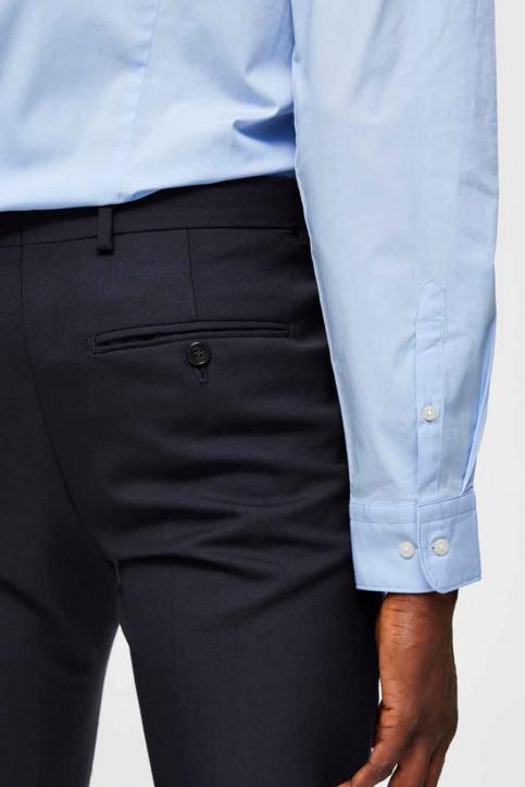 SELECTED Hemden (lange mouwen) blauw 16073122_LIGHT BLUE img3