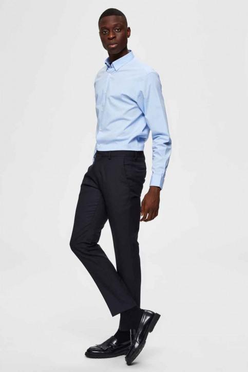 SELECTED Hemden (lange mouwen) blauw 16073122_LIGHT BLUE img4