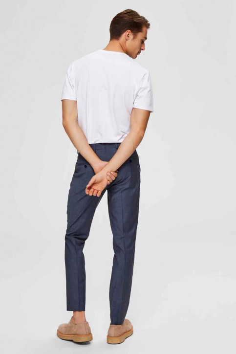 SELECTED T-shirts (manches courtes) blanc 16073458_BRIGHT WHITE img2