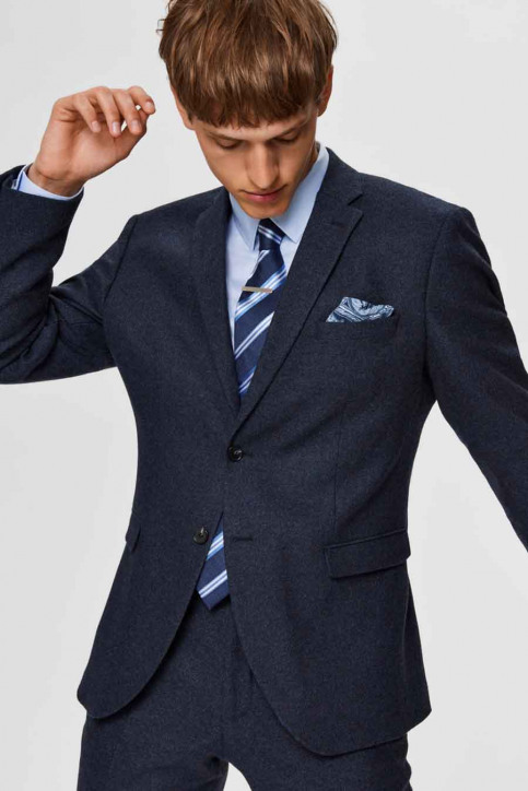 SELECTED Blazers blauw 16075089_MED BLUE MEL img2