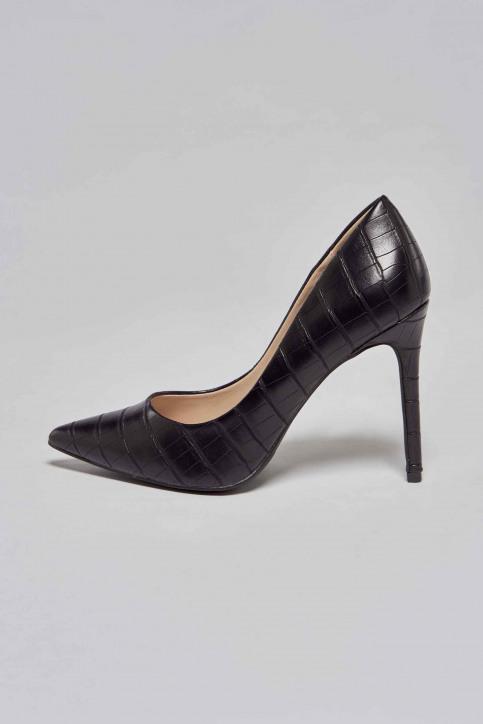 La Strada Pumps zwart 1700173_CROCO BLACK img2