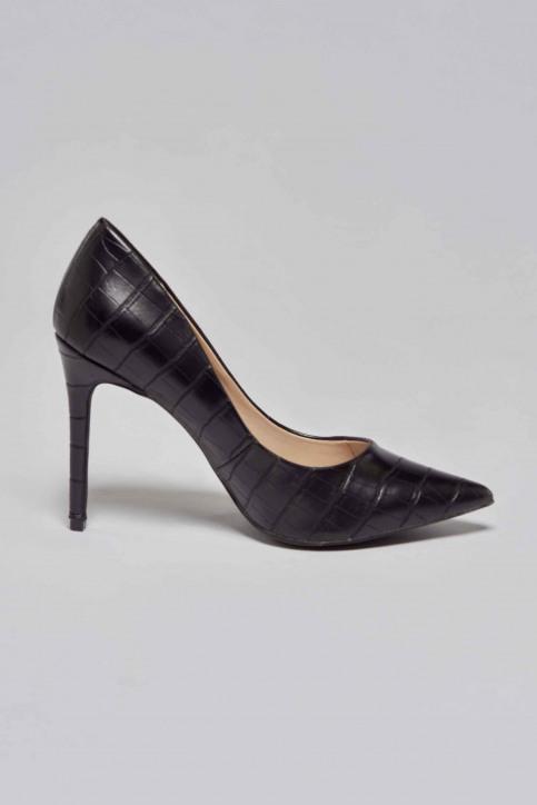 La Strada Pumps zwart 1700173_CROCO BLACK img3