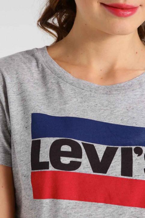 Levi's® T-shirts (korte mouwen) grijs 17369 PERFECTSPORT_0303SMOKEGREY img4