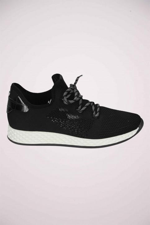 La Strada Sneakers zwart 1904006_KNITTED BLACK img1