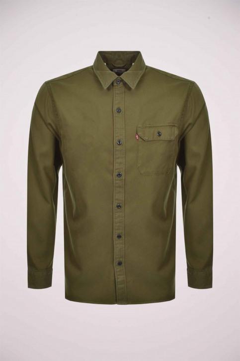 Levi's® Hemden (lange mouwen) groen 195730093_0093 OLIVE NIGH img1