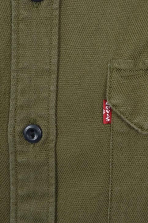 Levi's® Hemden (lange mouwen) groen 195730093_0093 OLIVE NIGH img2