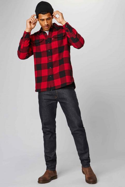 Levi's® Chemises (manches longues) rouge 195730096_0096 BANDURRIA img2
